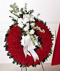 Patriotic wreaths and other sympathy gift ideas for veterans for same day delivery in Grand Rapids, Rockford, Zeeland and Holland with Sunnyslope Floral