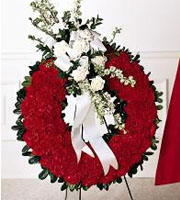 The FTD® Patriotic Tribute™ Wreath