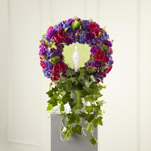 The FTD® Faith & Understanding™ Wreath