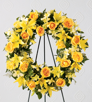The FTD® Ring of Friendship™ Wreath - Cleveland Ohio