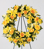 The FTD� Ring of Friendship� Wreath