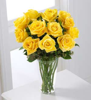 The FTD® Yellow Rose Bouquet - Cleveland Ohio