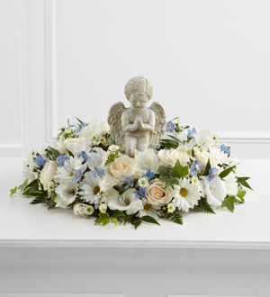 The FTD® The Little Angel™ Ring of Flowers - Cleveland Ohio