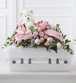 The FTD® Touch of Sympathy™ Casket Spray - Cleveland Ohio