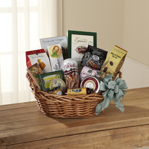 The FTD® Warmth & Comfort™ Gourmet Basket