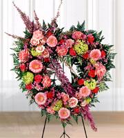 The FTD� Eternal Rest� Heart Wreath