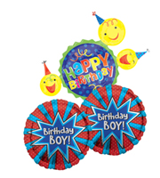 Birthday Boy Balloon Bundle