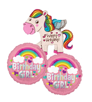 Birthday Girl Balloon Bundle