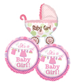 It's a Girl Balloon Bundle