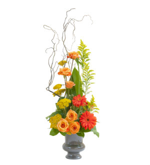 Heaven\'s Sunset Small  Urn