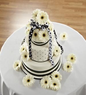 The FTD® Simple Sophistication™ Cake Décor