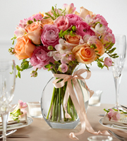 The FTD� Peach Silk� Arrangement