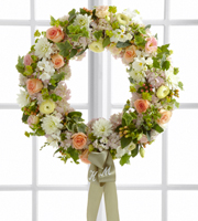 The FTD� Garden Splendor� Wreath