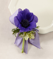 The FTD® Purple Passion™ Boutonniere
