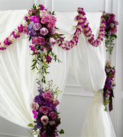 The FTD� Color & Light� Chuppah D�cor