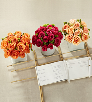 The FTD® Dawn Rose™ Centerpiece