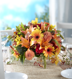 The FTD® One and Only™ Centerpiece