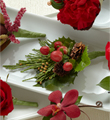 The FTD� Red Berry Boutonniere