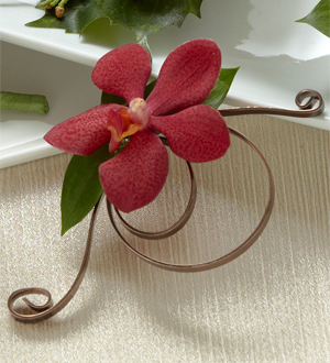 The FTD� Red Mokara Boutonniere