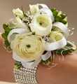 The FTD� White Wedding Corsage