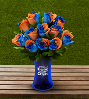 The FTD® University of Florida® Gators® Rose Bouquet - 12 Stems