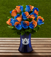 The FTD® Auburn University® Tigers® Rose Bouquet - 12 Stems