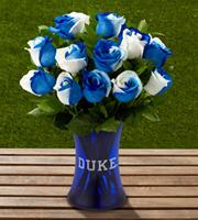 The FTD� Duke University� Blue Devils� Rose Bouquet - 12 Stems