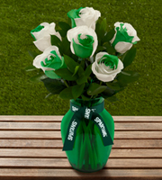 The FTD® Michigan State University Spartans® Rose Bouquet - 6 Stems