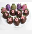 Belgian Chocolate Dipped Love Mom Berrygram
