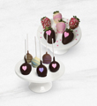 Dessert is Served Mother's Day Belgian Chocolate Dipped Berry & Cake Pop Combo