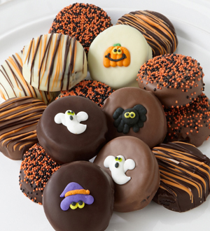Chocolate Dip Delights™ Halloween Real Chocolate-Dipped Oreo® Cookies