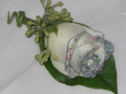 The Shimmer Rose  Boutonniere