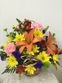 Vibrant Fall Basket