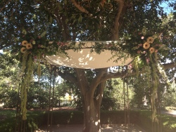 Chuppah Garden Wedding