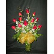 1 Doz Red Roses
