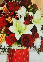 Happiest of Holidays Bouquet FTD