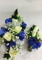 White Roses And Delphinium