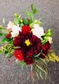 Burgendy Bliss Bridesmaid Bouquet