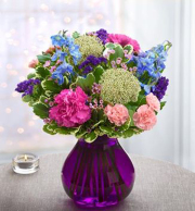 Plum Crazy (Midnight Frost Bouquet)