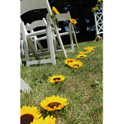 Sunny Sunflowers Aisle decor