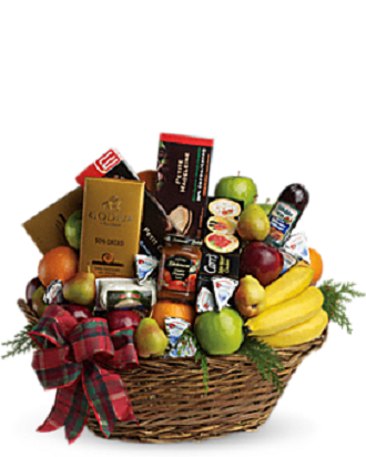 Amore Fiori Flowers & Gifts The Ultimate Christmas Gift Basket ...