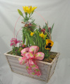 Garden Basket of Blooms