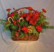 Candy Cane Basket