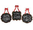 Wall Hanging Christmas Message