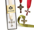 Pewter Decor Cross Bookmark