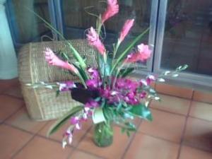 Tropcal Vase