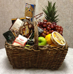 Fabulous Feast Fruit & Gourmet Basket