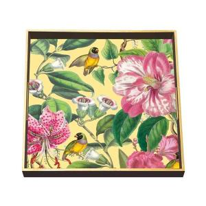 Provence Square Decoupage Wooden Tray