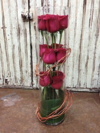 City scents flowers gifts roses under glass chicago il for Rose under glass