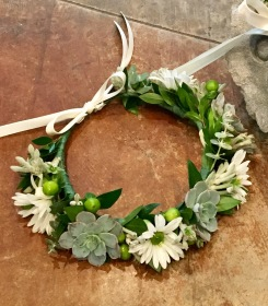 Succulent Flower Crown